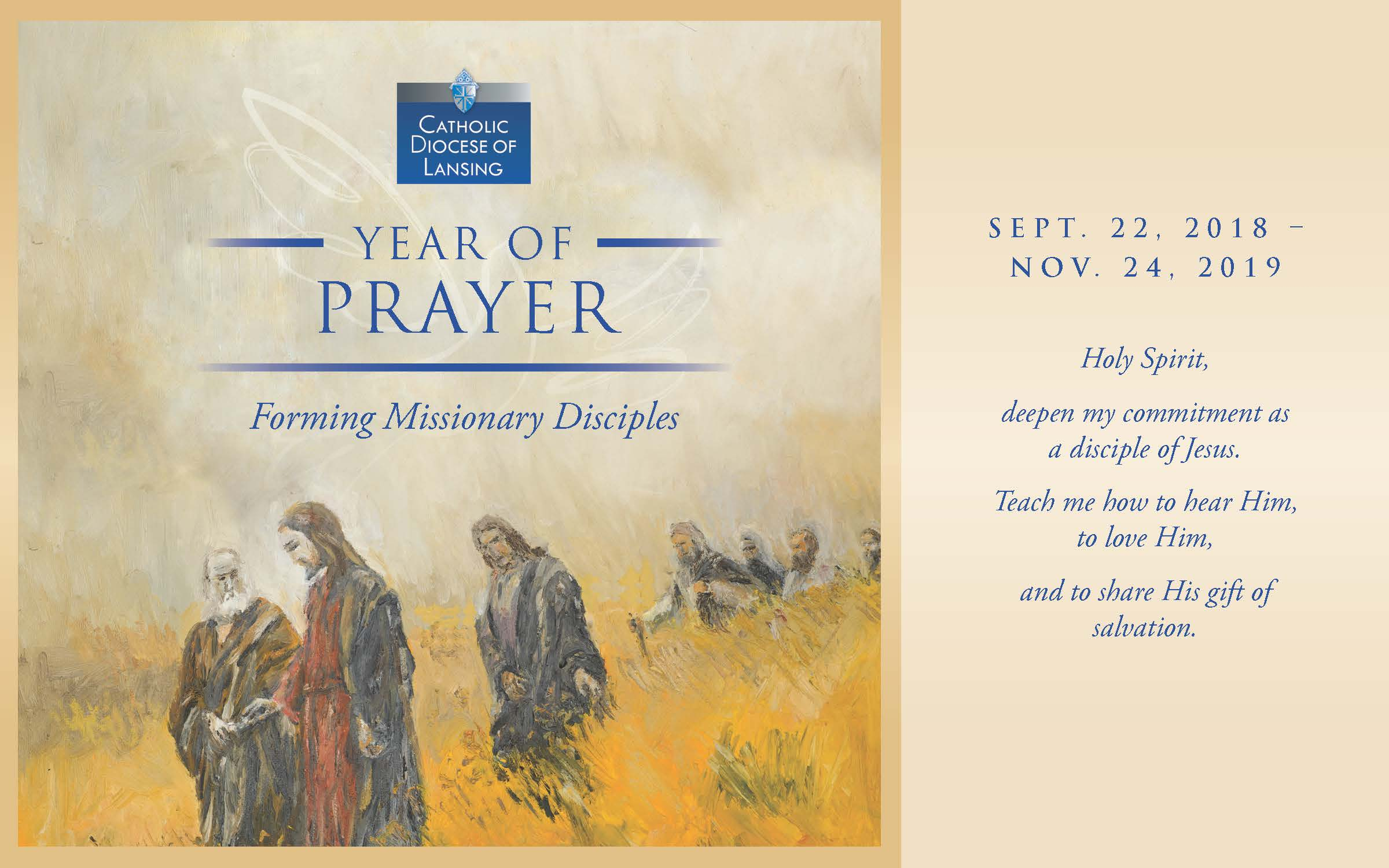 Year of Prayer | Diocese of Lansing