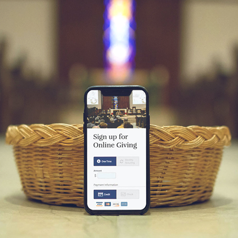 Give To Your Parish Online