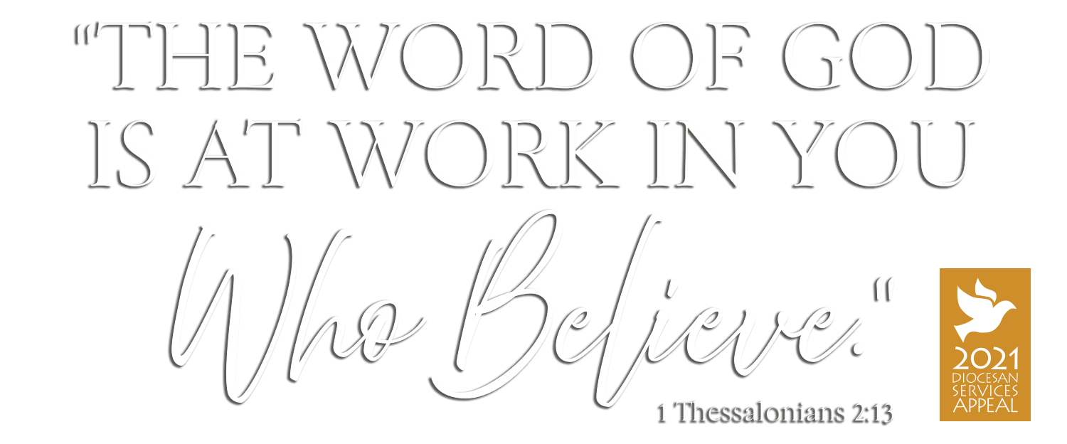 The word of God is at work in you who believe