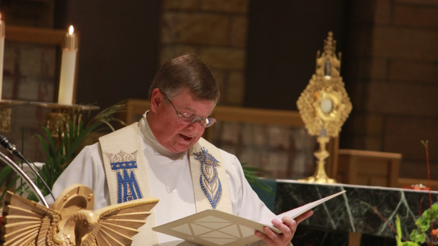 Installation of Fr. Firestone
