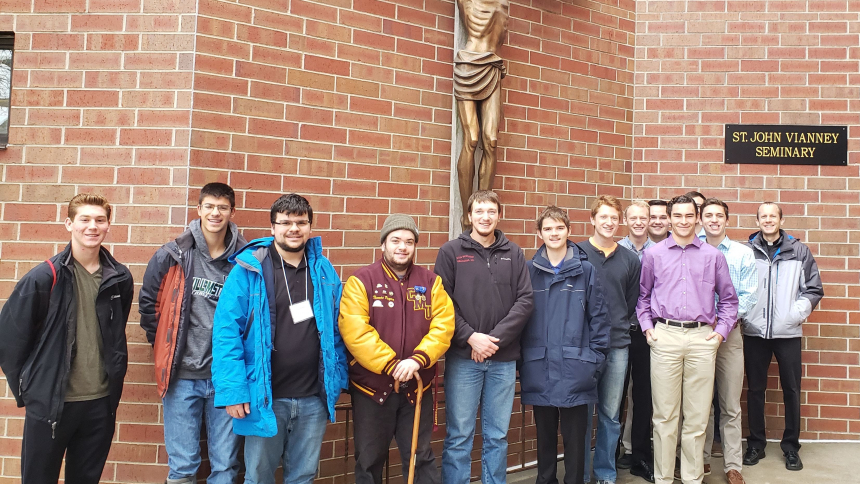 Vocations Visit to St. John Vianney Seminary College