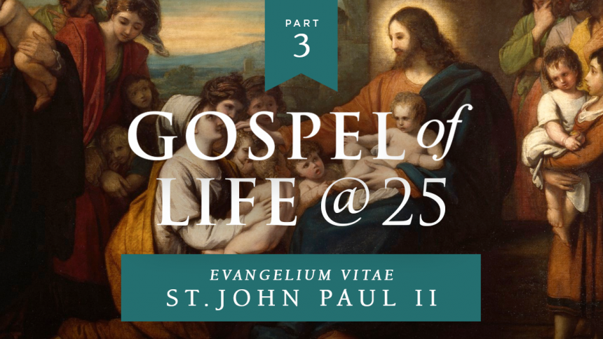"Read: The Gospel of Life @ 25: Part 2: ""More contraception? More abortions"""