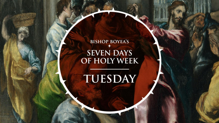 Days of Holy Week Tuesday