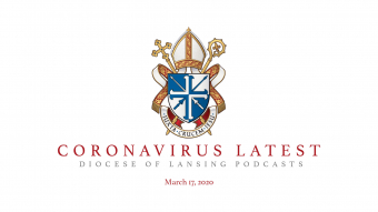 Diocese of Lansing Podcast Graphic