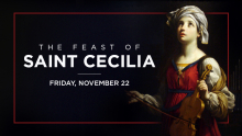 Feast of St. Cecilia